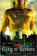 Image of City of Bones Book Cover.