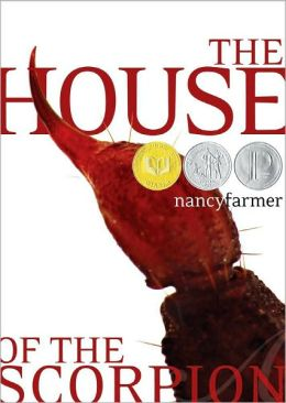 Image of The House of the Scorpion Book Cover.