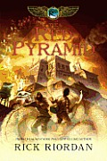 Image of The Red Pyramid Book Cover.