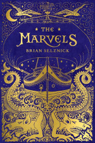 Image of The Marvels Book Cover.