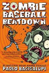 Image of Zombie Baseball Beatdown Book Cover.