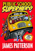 Image of Public School Superhero Book Cover.