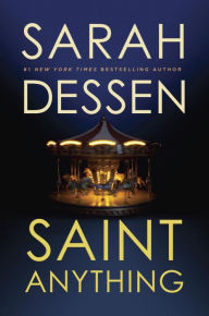 Image of Saint Anything Book Cover.