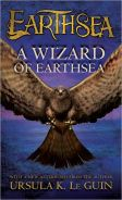 Image of A Wizard of Earth Sea Book Cover.
