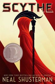 Image of Scythe Book Cover.