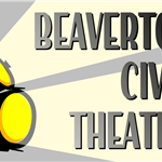 Graphic logo for Beaverton Civic Theatre.