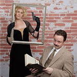 BCT&#39s Evan Wade and Lesley Nadwodnik as Richard and Annabella in &#39The 39 Steps.&#39