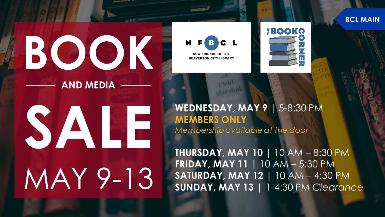 Used Book & Media Sale: Members-only Night