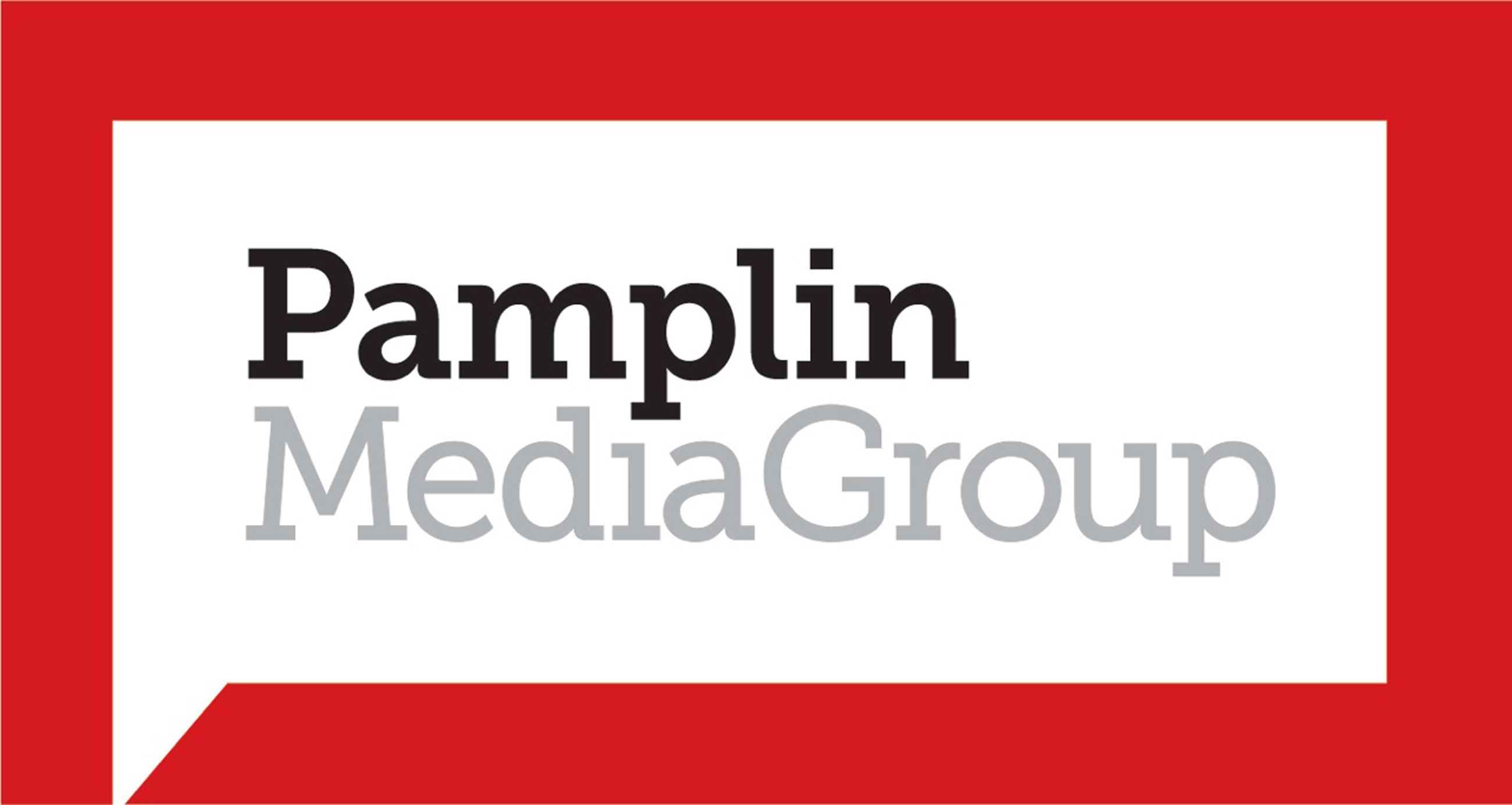 Logo for Pamplin Media Group, Portland area media conglomerate.