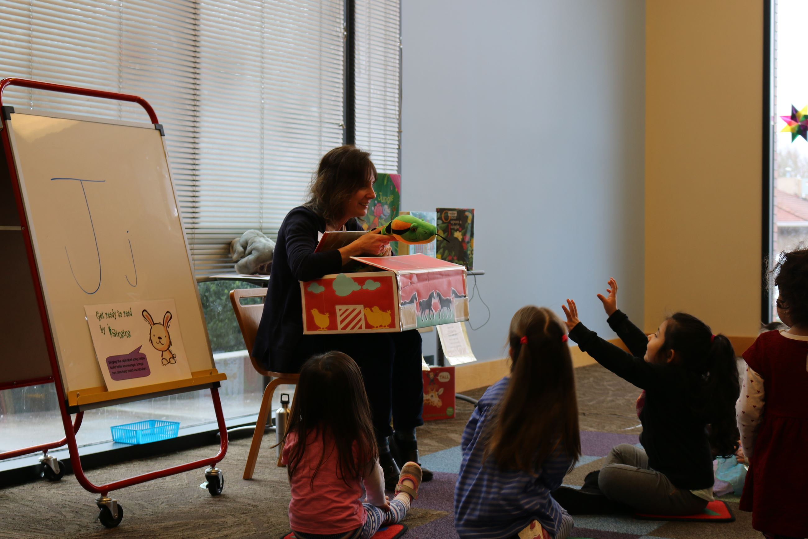Preschool Storytime at Beaverton City Library Main.