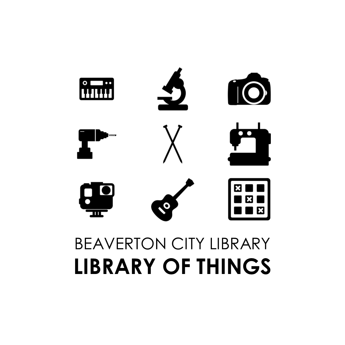 Library of Things graphic