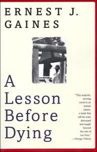 An Image of the A Lesson Before Dying Book Cover.