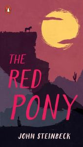 An image of The Red Pony Book Cover.