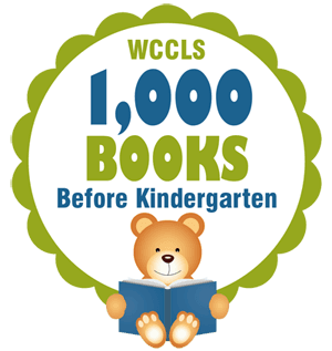 Image of One Thousand Books before Kindergarten Logo.