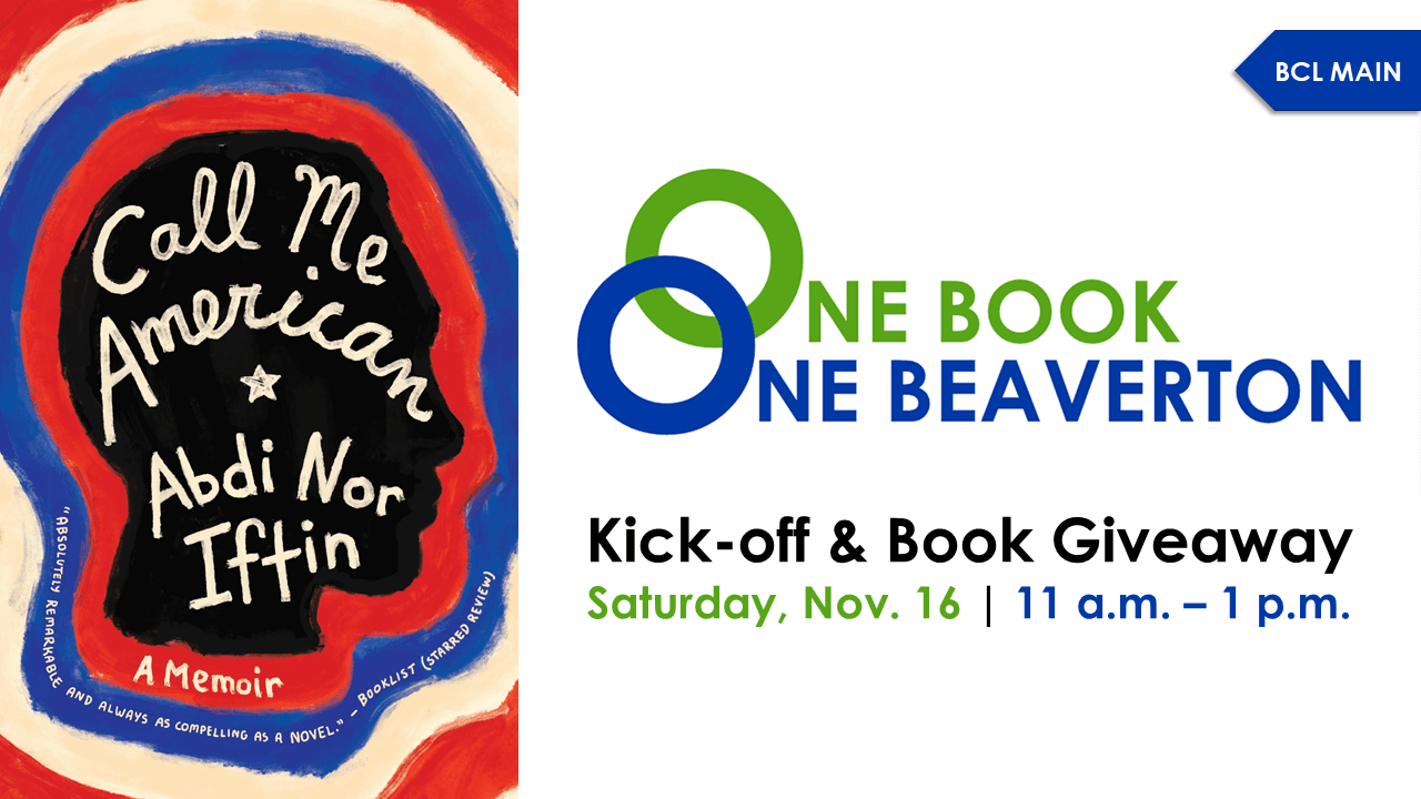 One Book, One Beaverton Kick-off Party