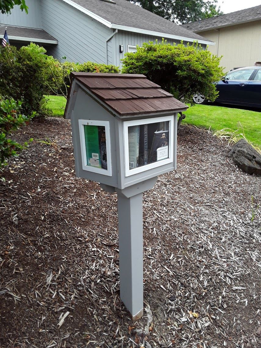 Image of Little Free Library on 22nd St.