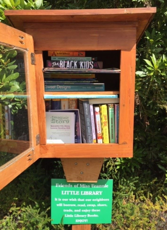 Little Free Library on Stirrup St.