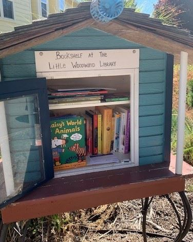 Image of Little Free Library on SW Woodwind Ct.