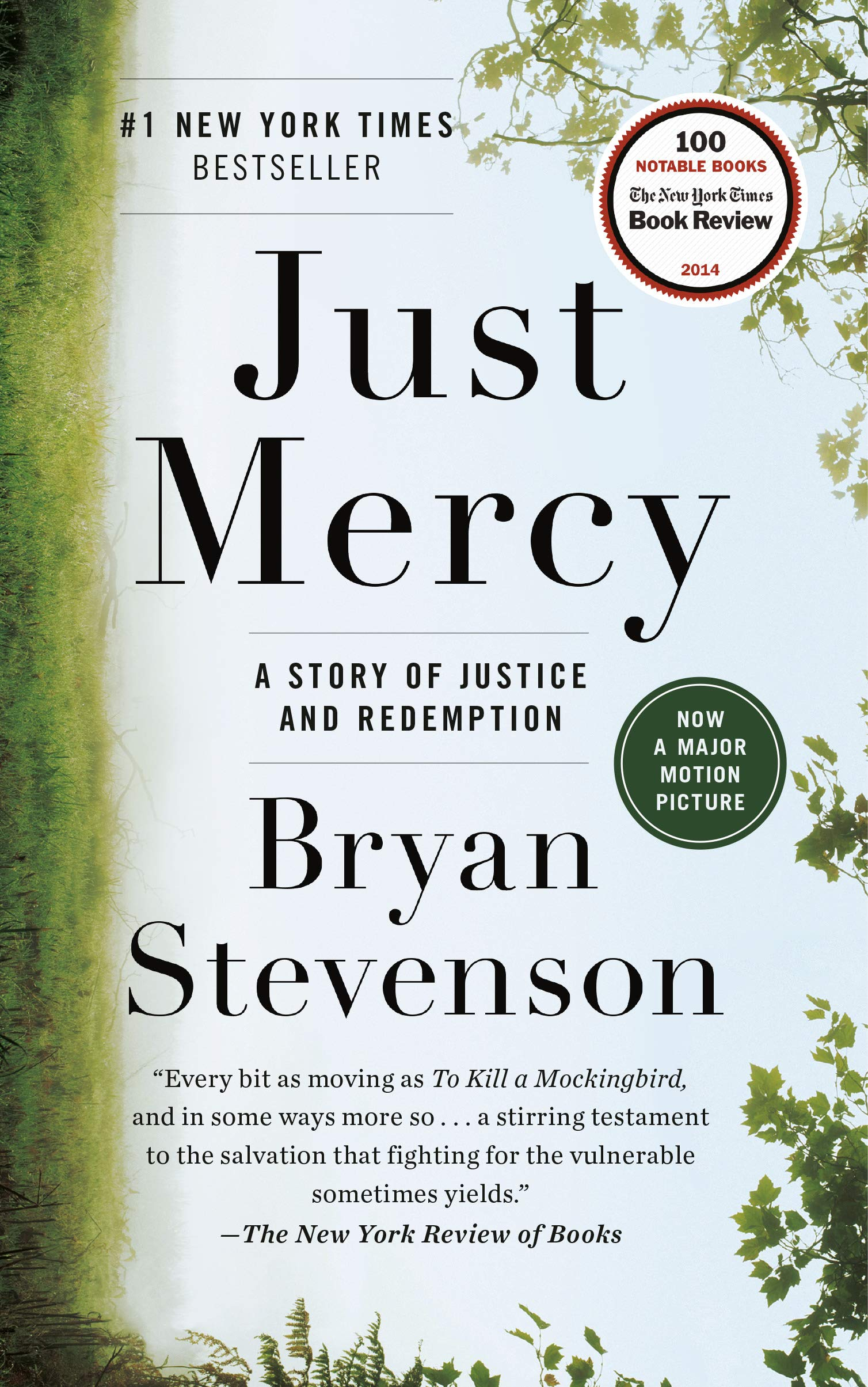 Image of Just Mercy book cover