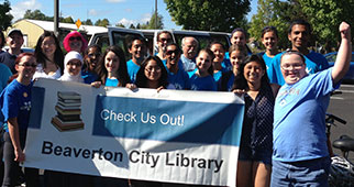 Beaverton City Library volunteers